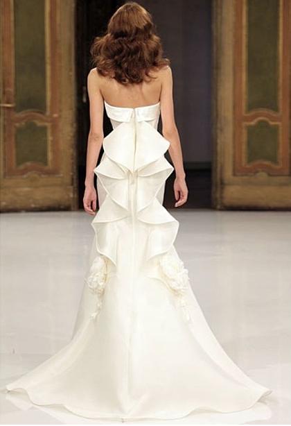 vestido da noiva - detalhe costas impecável!