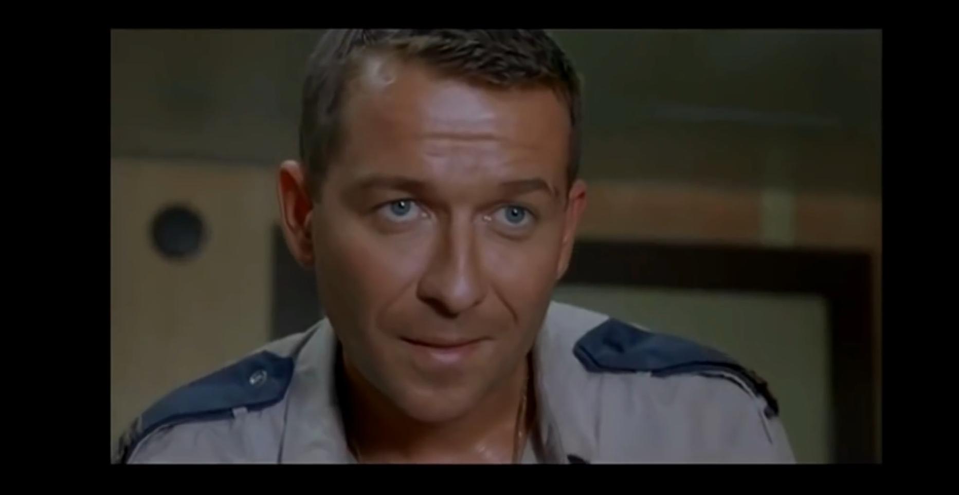 Sean Pertwee as Ion in Deadly Voyage, 1996