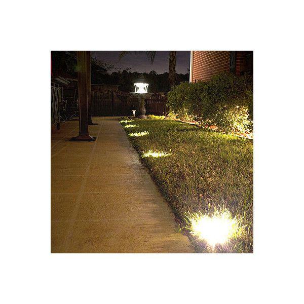frontgate solar ground deck lights
