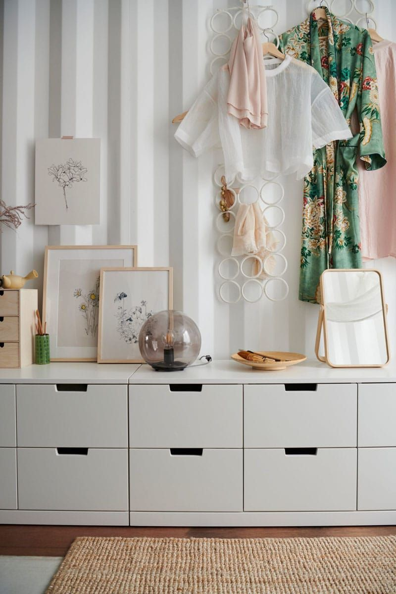 rangement chambre ikea meuble