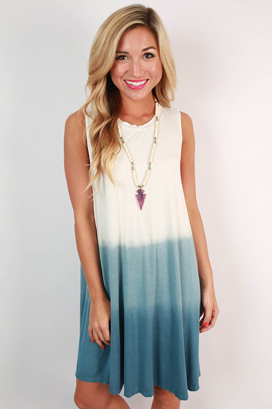 Beach Life Ombre Tank Dress | Summer Is Here! | Pinterest | Suits ...