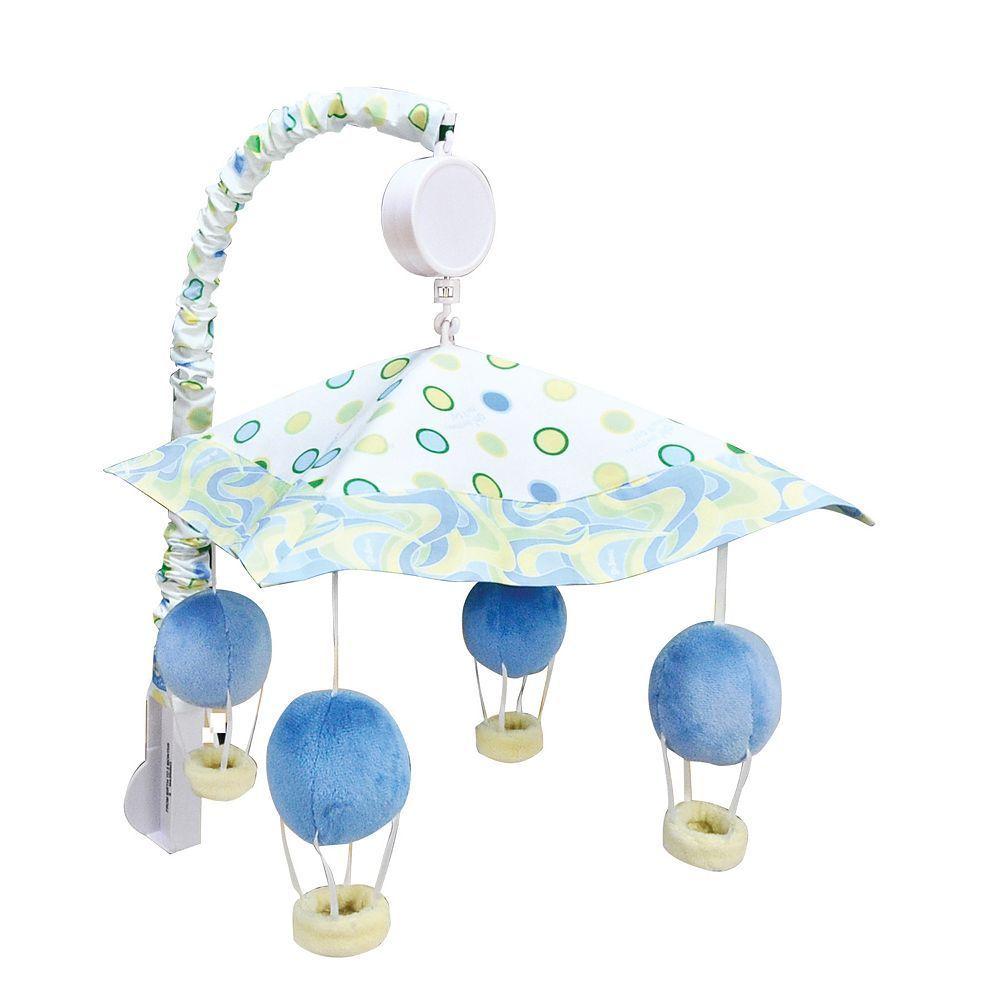 Trend Lab Dr Baby Mobile Seuss Horton Musical Crib Mobile Nursery