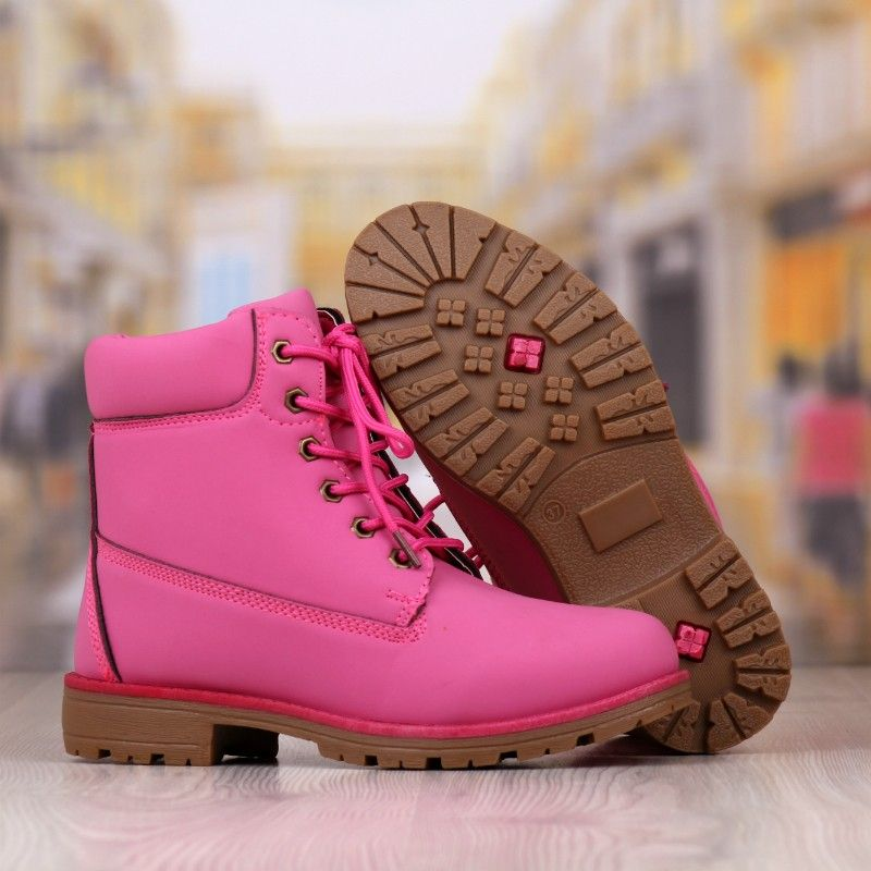 Ghete Dama Roz Cod: 552p   Boots, Timberland boots, Shoes