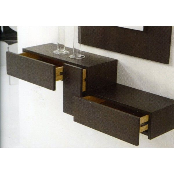 Estante con cajon recibidor muebles pinterest estante con caj n recibidor y madera - Estante con cajon ...