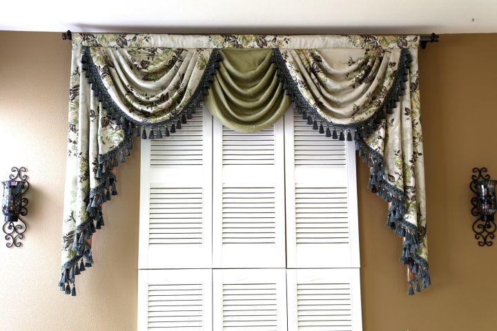 Check Out These 40 Beautiful Swag Valance Patterns To Sweeten Your Custom Valance Patterns