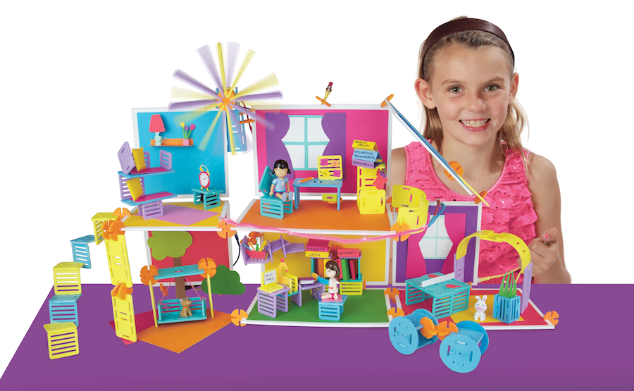 Imaginative Toys For Girls : Roominate: a building toy for girls u2013 roominate estate kids