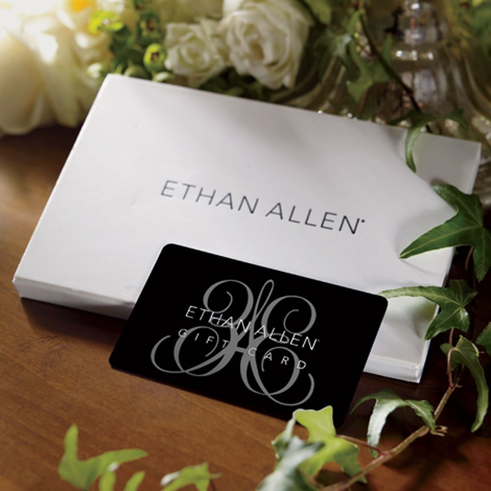 Gift card ethan allen gifts gift card holiday gifts