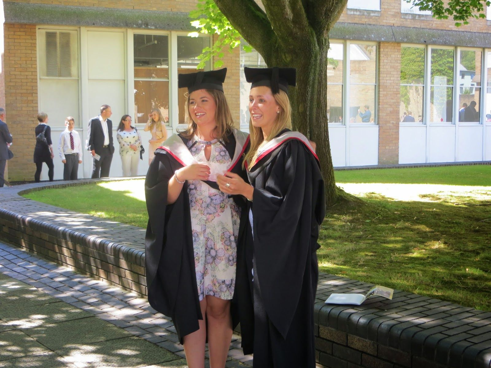 Graduates From Lancaster University Photo By Weekend Toast With