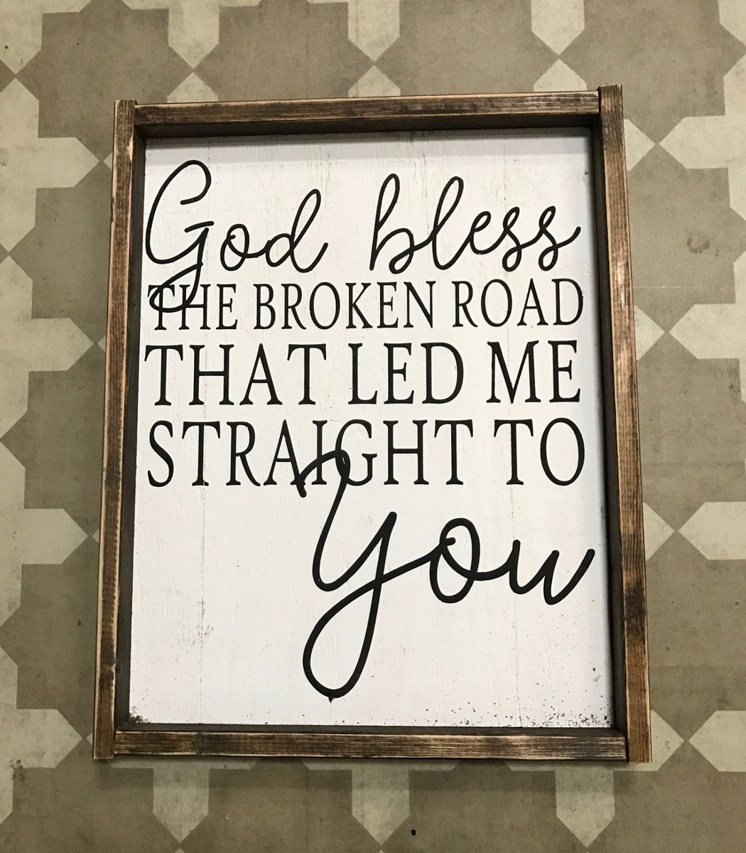 God Bless the Broken Road - Vertical