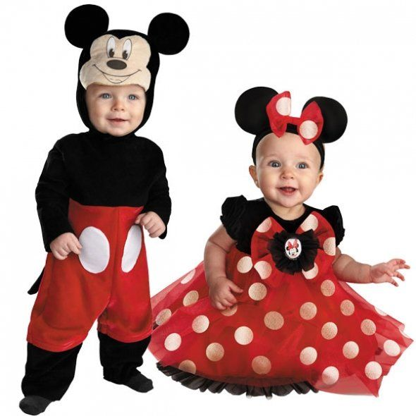 mickey mouse minnie mouse infant baby halloween costumes - Infant Mickey Mouse Halloween Costume