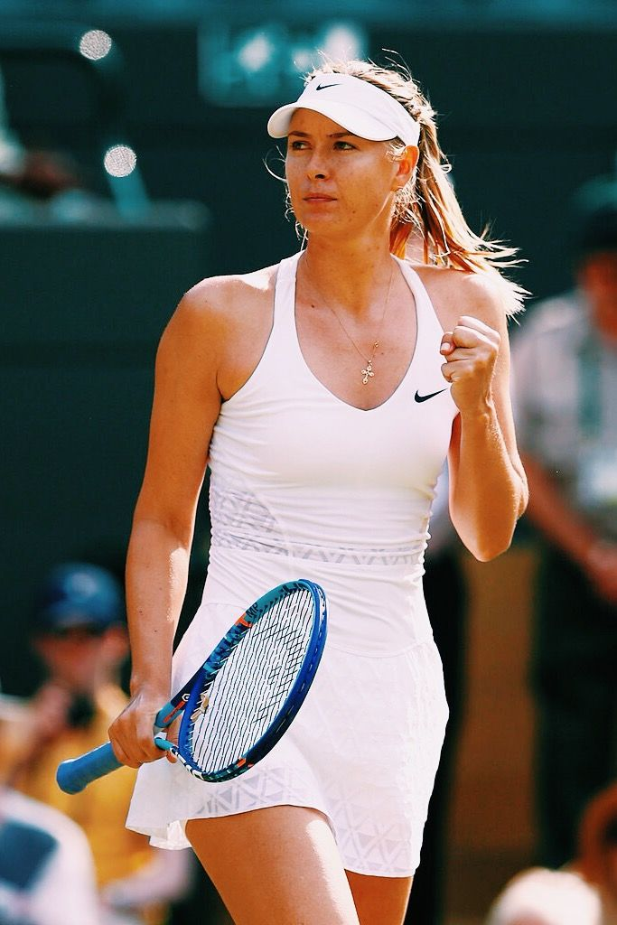 TENNIS BOULEVARD: Maria Sharapovas Wimbledon dress