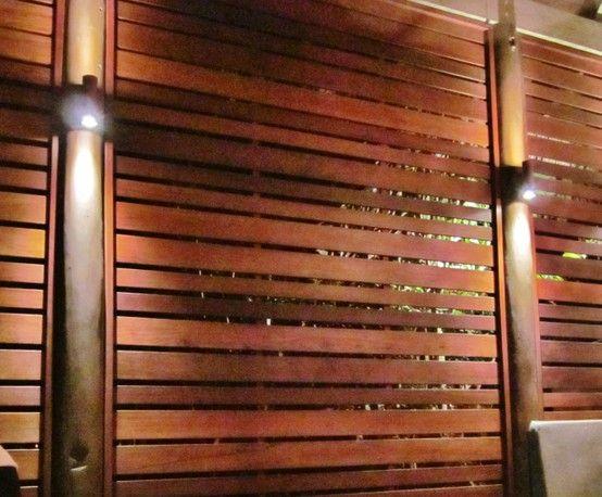 Wood Slat Wall Love The Light Placement Basement Remodel Pinterest Woo
