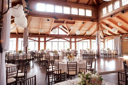New york wedding guide the reception indoor outdoor for Indoor outdoor wedding venues