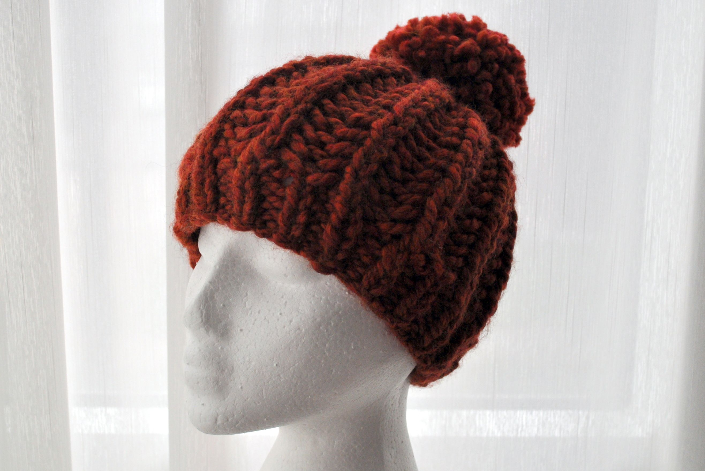 Free Pattern: Knit Fisherman Ribbed Hipster Hat   Knitting ...