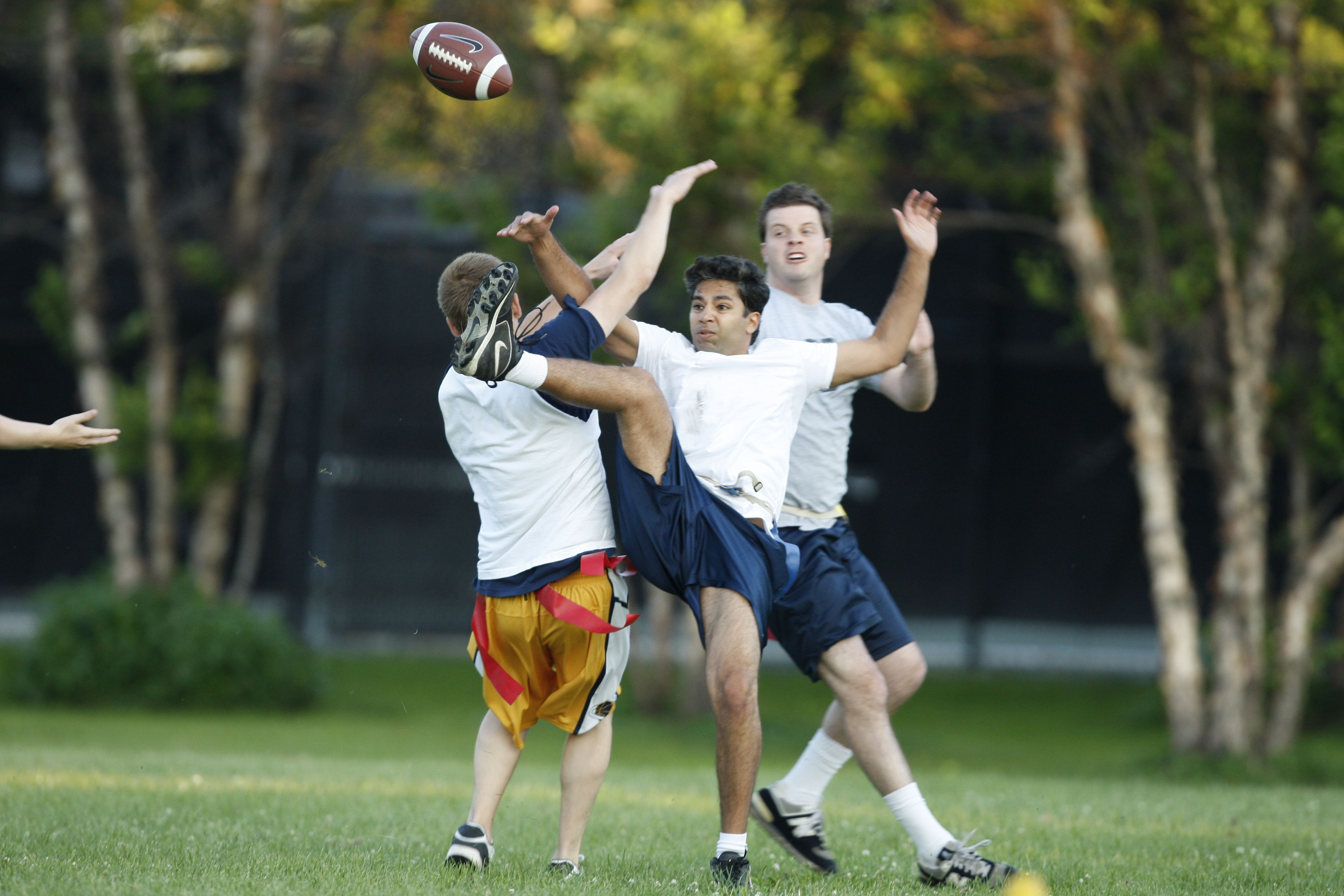 All Tangled Up On The Football Field Flag Football League Football Flag Football