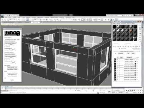loom 3dsmax plugin for making windows - YouTube | Уроки 3d база