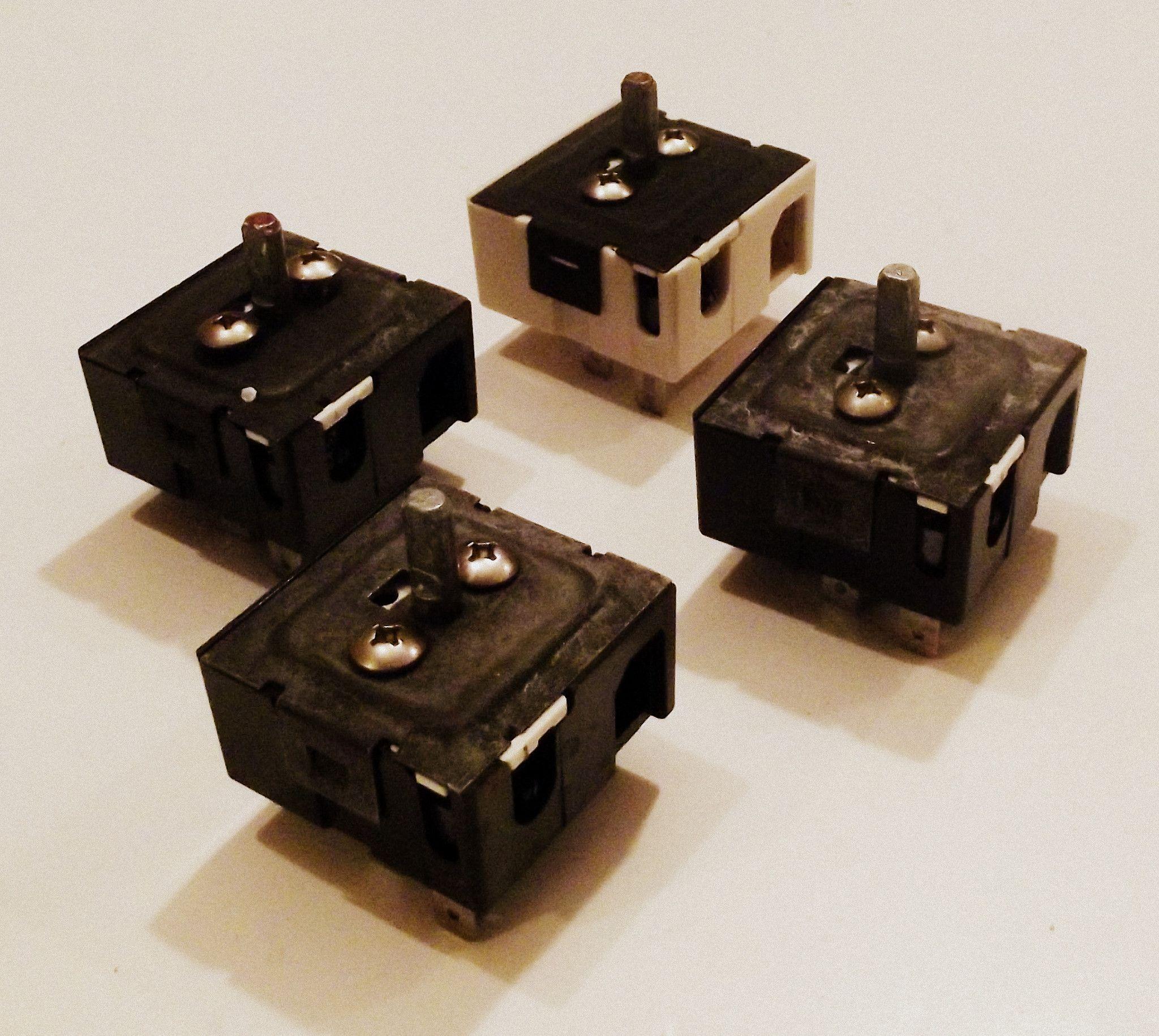 316021500 316021501 Frigidaire Kenmore Range Burner Switch