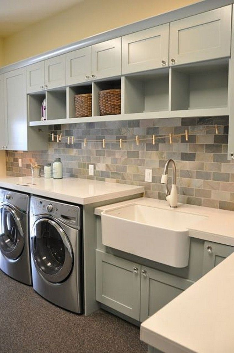Photo of 38+ Inspiring Remarkable Laundry Room Layout Ideas for The Perfect Home Drop Zones – Page 7 of 40