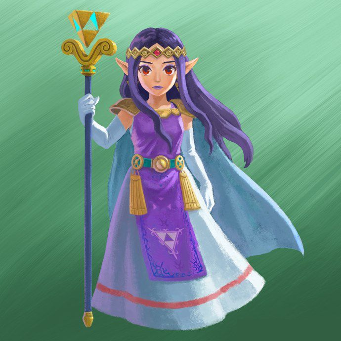 The Legend Of Zelda A Link Between Worlds Concept Art Legend Of