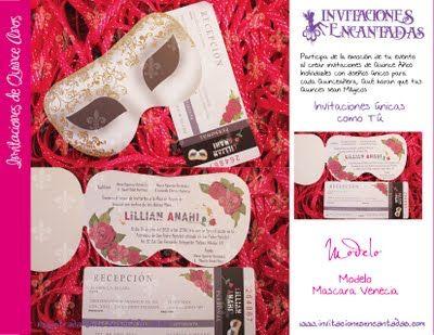 Invitaciones 15 Años Invitaciones De 15 Modernas Masquerade Book Cover Party