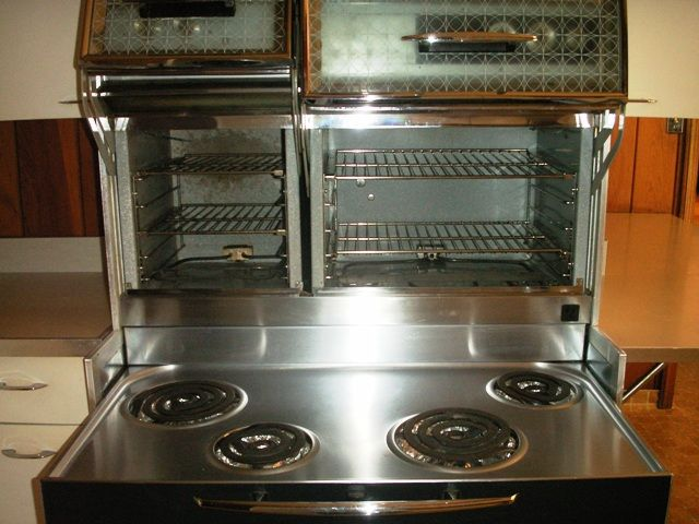 Bewitched Kitchen Set Stove With Double Ovens Retro Stove Double Oven Bewitching