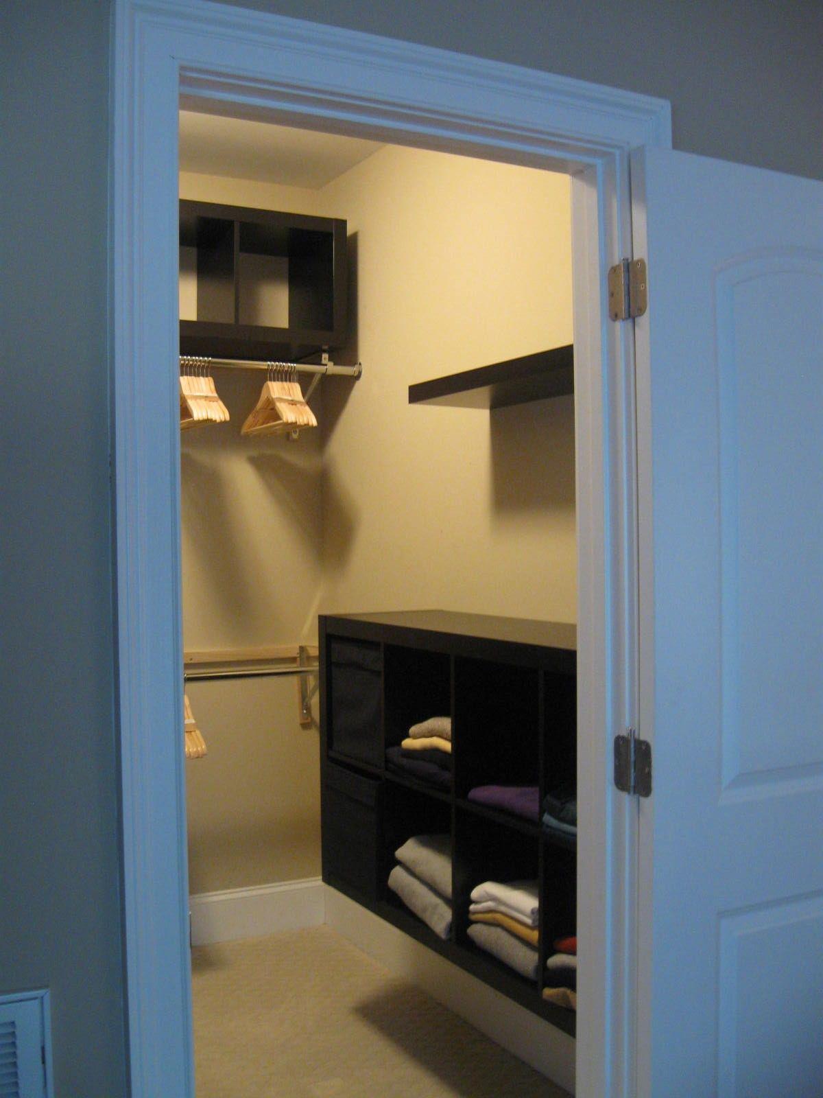 Bedroom Closet Design Ideas 12 Small Walk In Closet Ideas And Organizer Designs  Storage Room