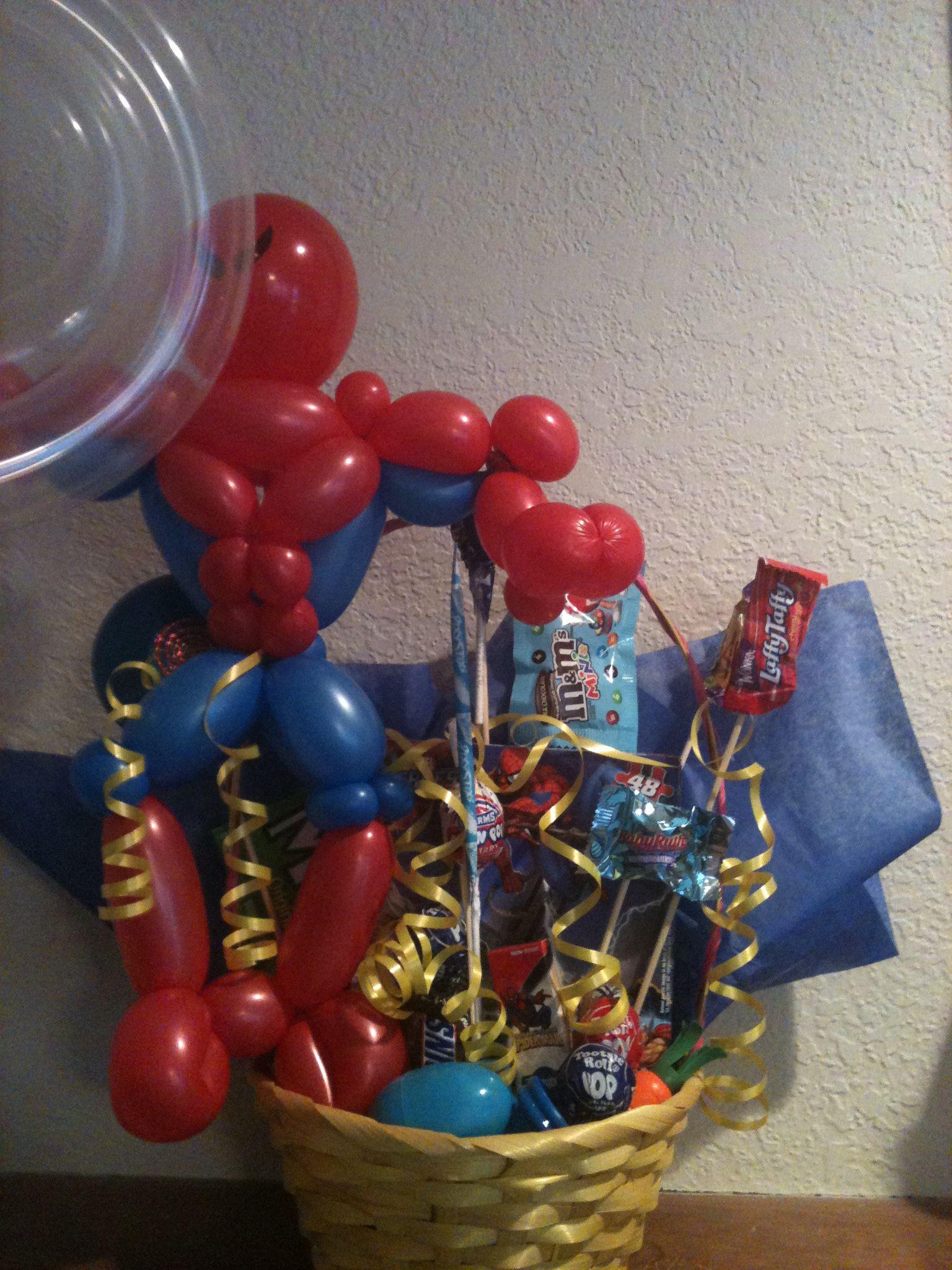 Spider Man Easter Basket