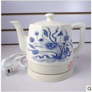 Electric Ceramic Kettle Electric Cermaic Teapot Orchid Teapot Ceramic Kettle