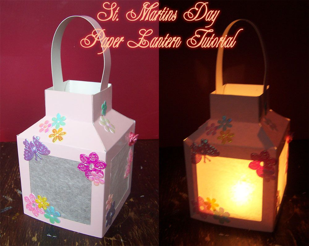 St martins day lantern tutorial will be doing this to for Diy paper lanterns