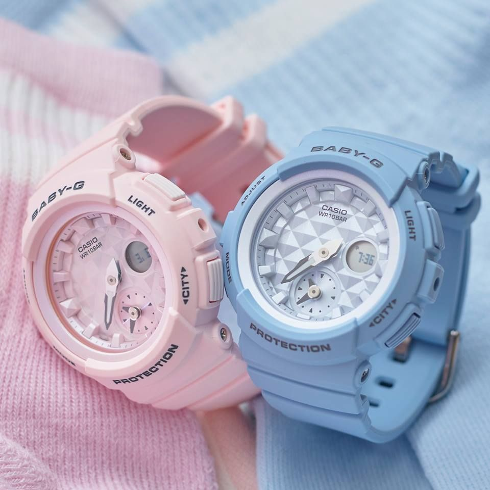 122d38b35de4 Live Photos] Baby-G BGA-190BE Studs Beach Color Series | babyyy ...