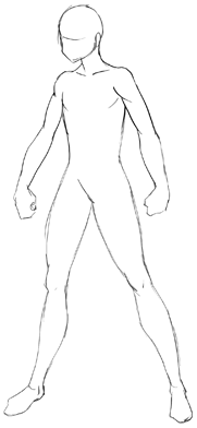 How To Draw Anime Body With Tutorial For Drawing Male Manga