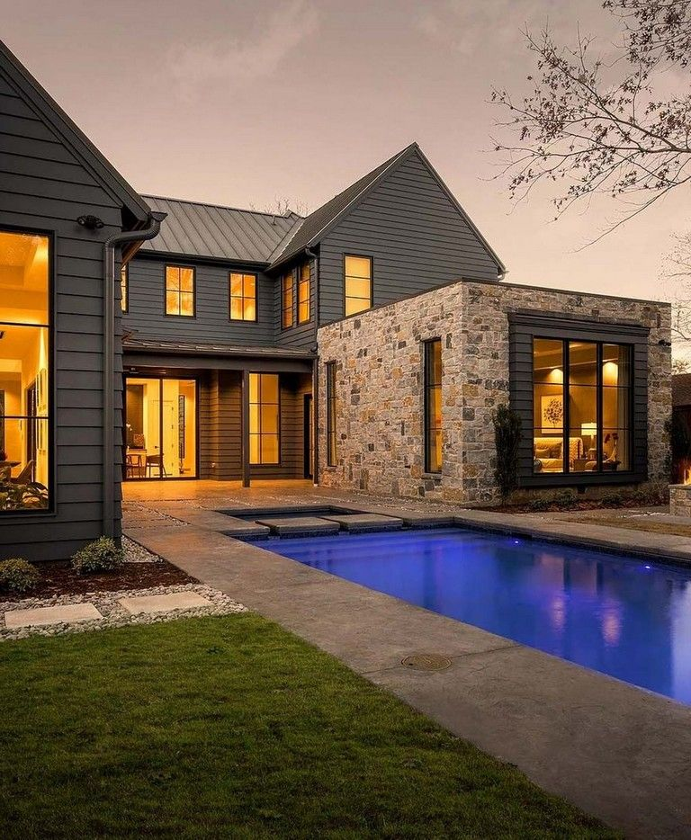 32 Amazing Contemporary Farmhouse Designs Ideas Best For Any Home Designs Page 2 Of 34 Modern Farmhouse Exterior Italian Farmhouse Farmhouse Exterior