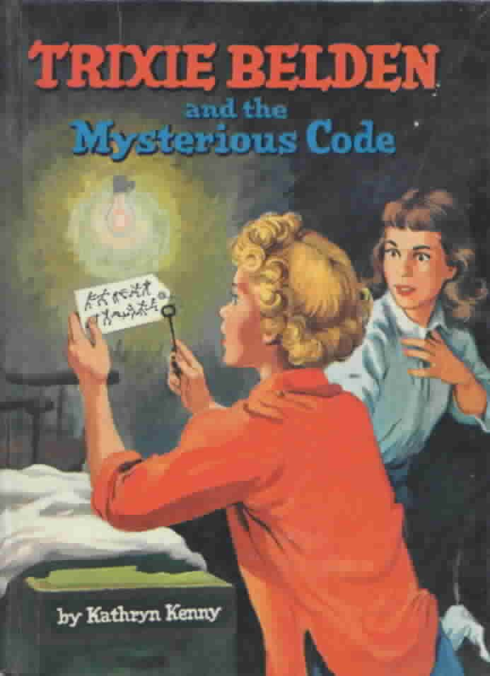 Trixie Belden and the Mysterious Code, cello edition, 1961 (23  illustrations from this book follow this pin)