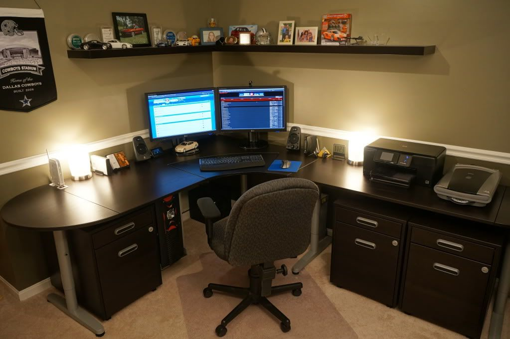 Gaming Corner Desk