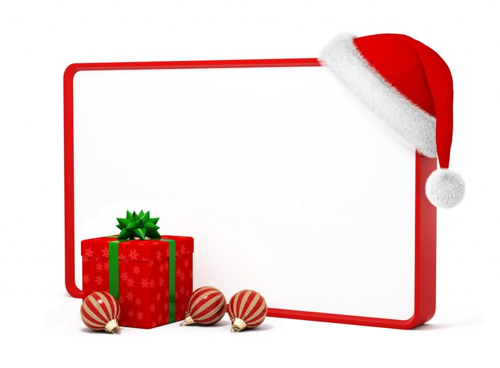 Free Christmas Borders And Frames Clip Art