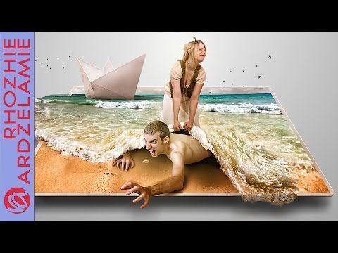Rescue (3D) - Speed Art | Photo Manipulation by Rhozhie Ardzelamie - YouTube