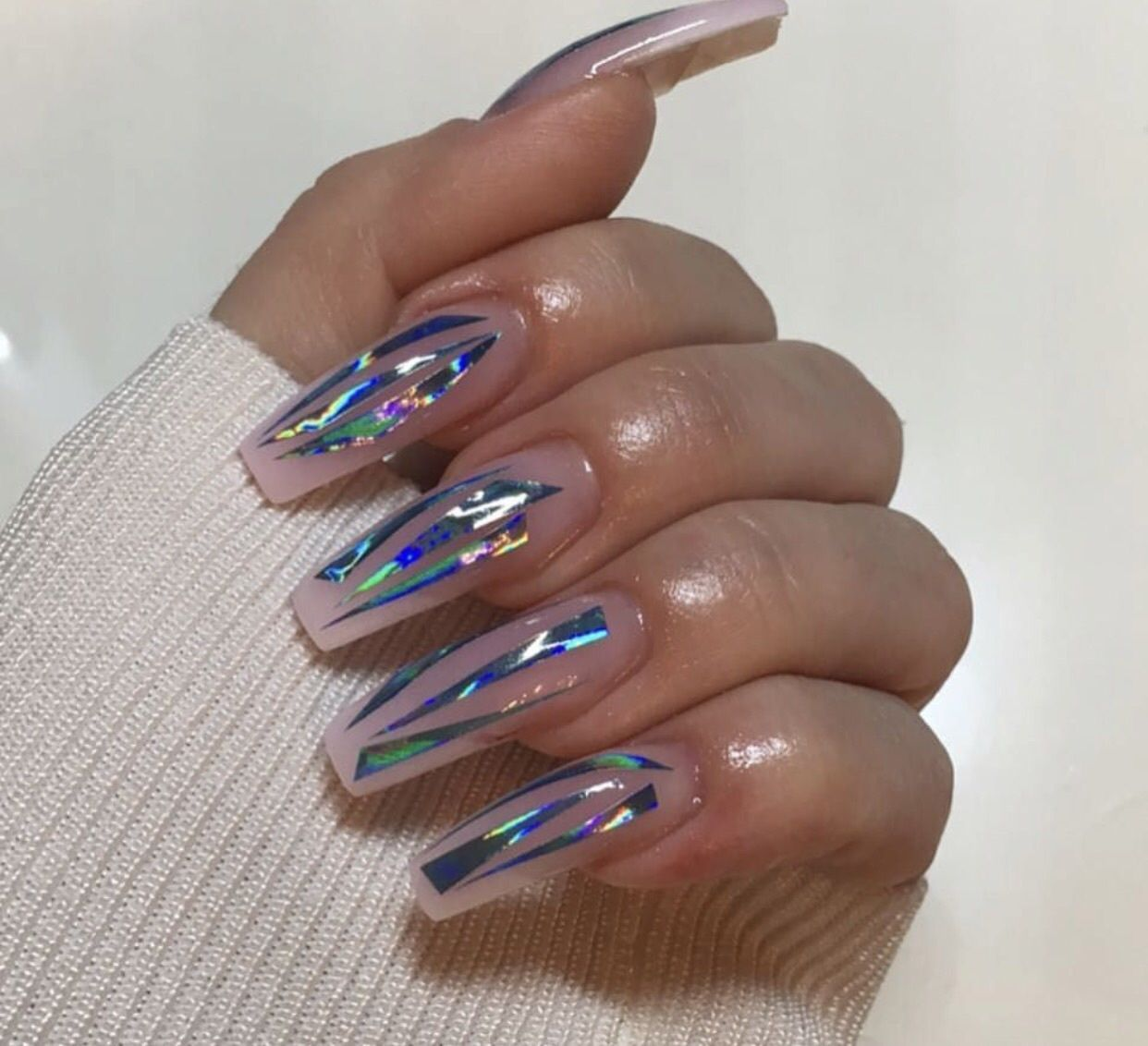 Pin by ✨JɑӀɑ✨ on Nαιlѕ ✨ | Pinterest | Nails inspiration, Coffin ...