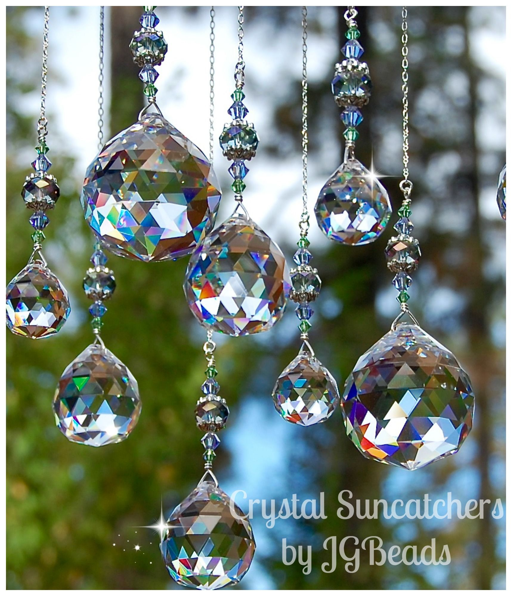 Magic Window Unique Crystal Suncatchers By Jgbeads Com
