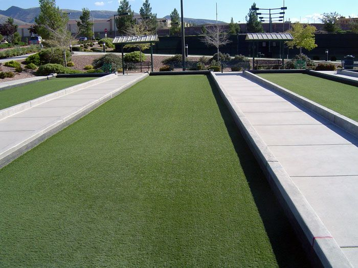Artificial Gr Is The Best Bocce Ball Court Surface Courts At Sun City Developments Installation By Easyturf Authorized Dealer Fieldturf Of