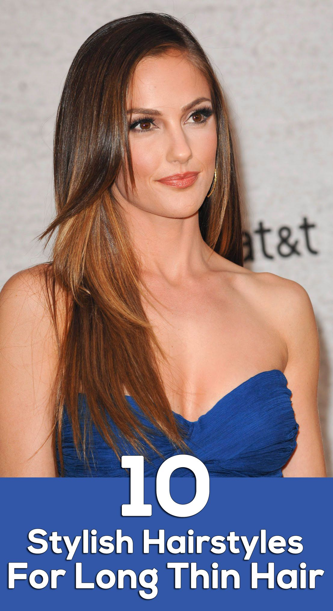 10 Stylish Hairstyles For Long Thin Hair   Hair styles ...