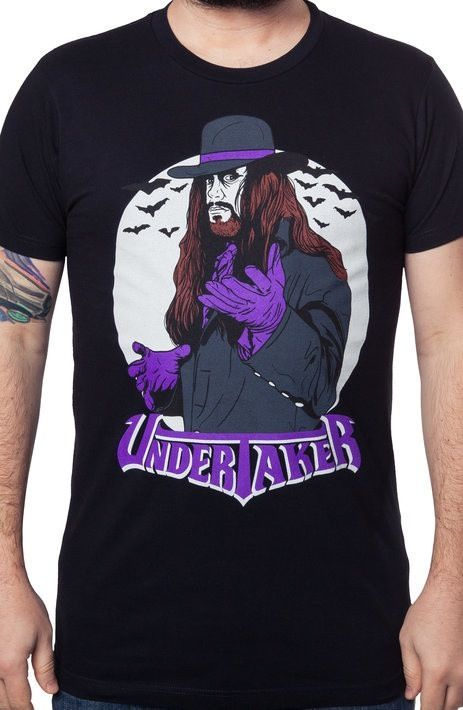 1fde57cd The Undertaker T-Shirt - WWE T-Shirt. Find this Pin and more on Wrestling  Tees ...