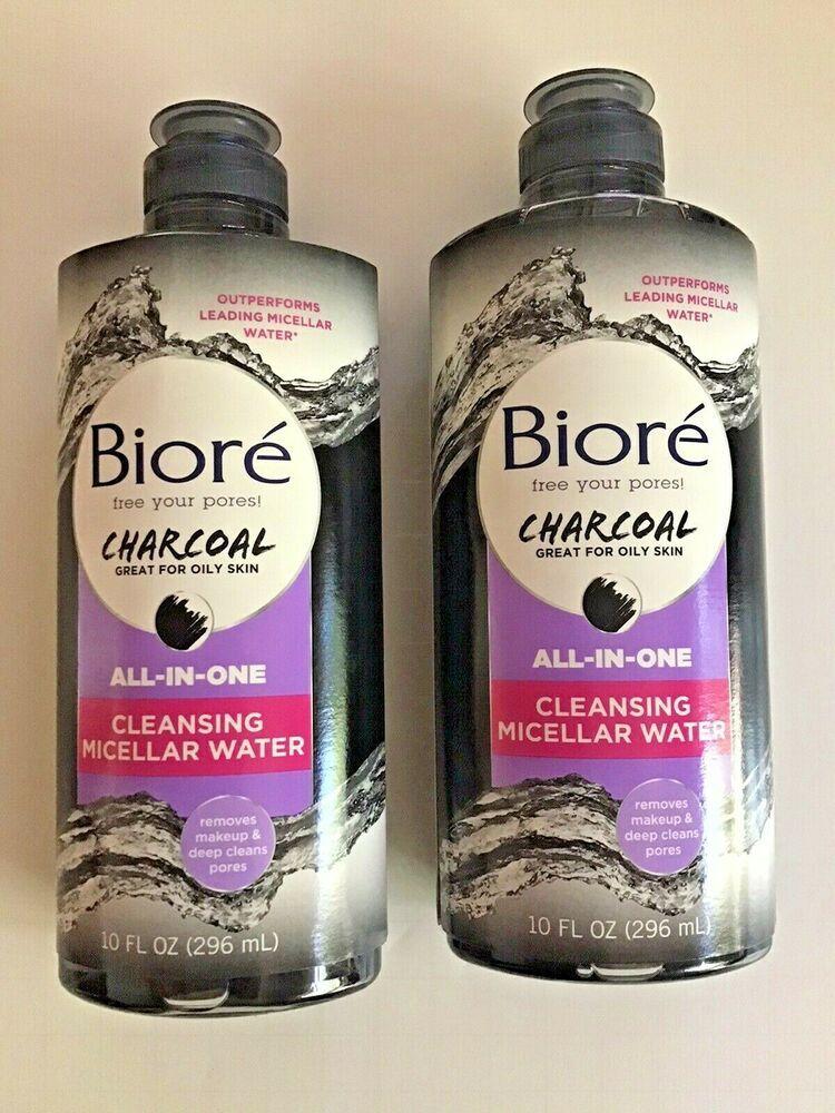 Bioré Charcoal Micellar Makeup Removing Cloths Designed