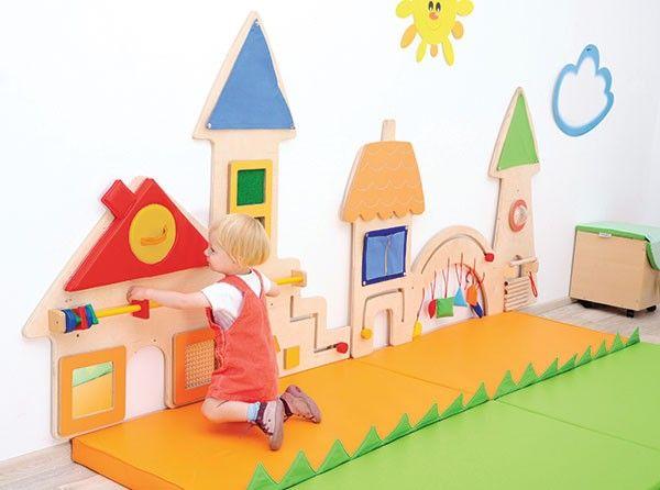 Wall Mounted Sensory Panels Walls Screens Walls Mirrors Morleys School Furniture Kids Playroom Decoracao De Creche Quarto De Bebe Montessoriano