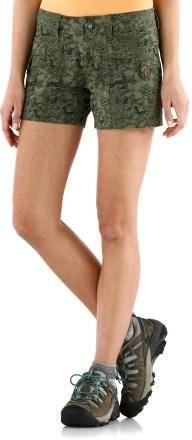 Marmot Ginny Shorts - VINTAGE IVY CAMO