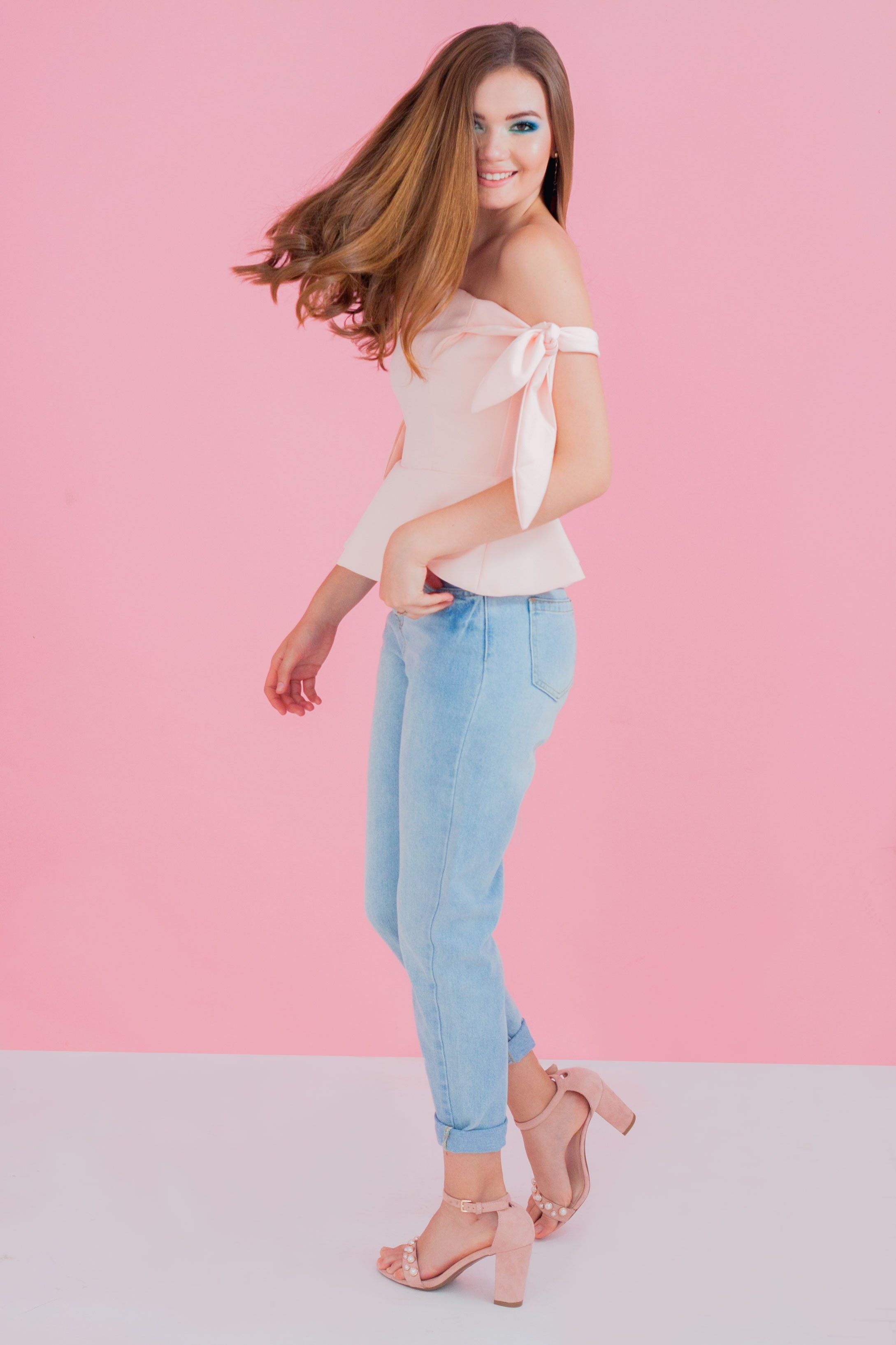 Blusa Strapless Colores 2 Tiras Con My Style TT7Oqrwx