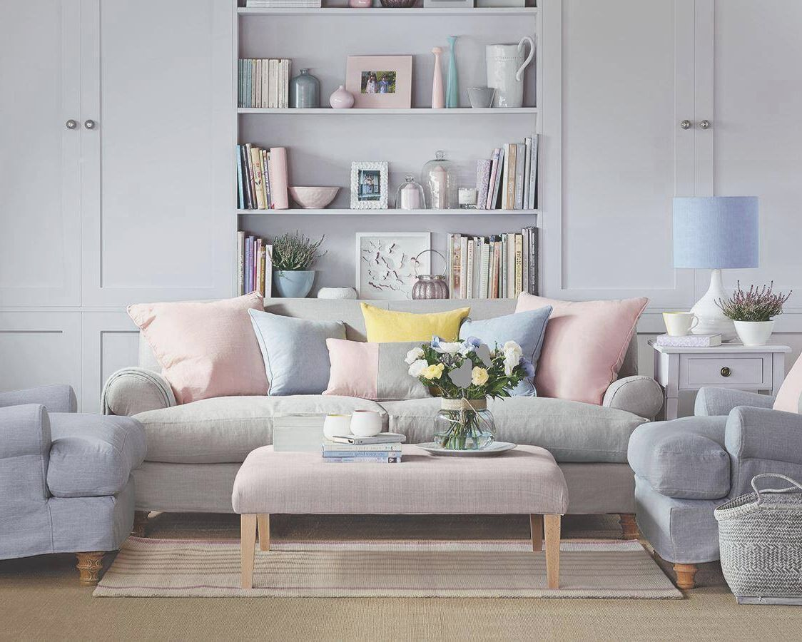 Grey pastel lounge google search pinterest for Living room ideas pastel