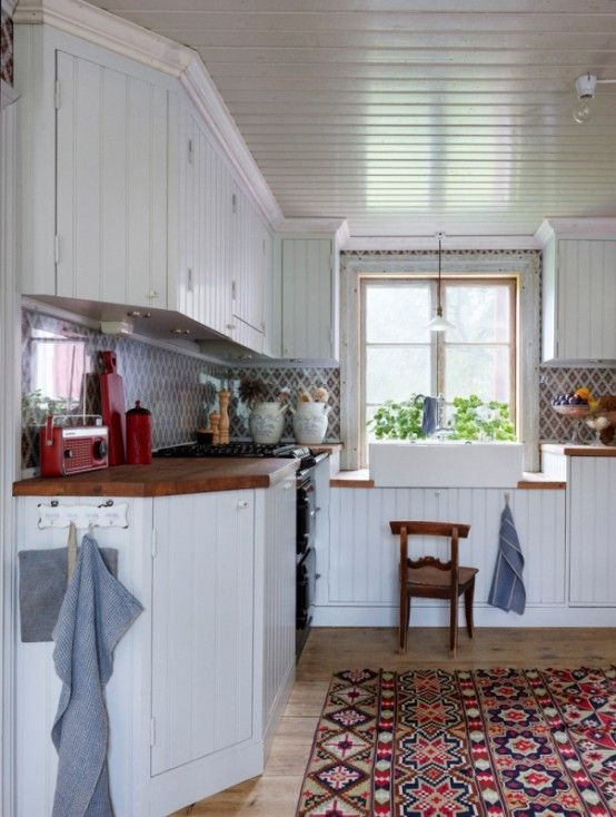 Scandinavian House In Industrial And Rustic Style Digsdigs Rustic Home Design Home Interior Design Vintage Kitchen