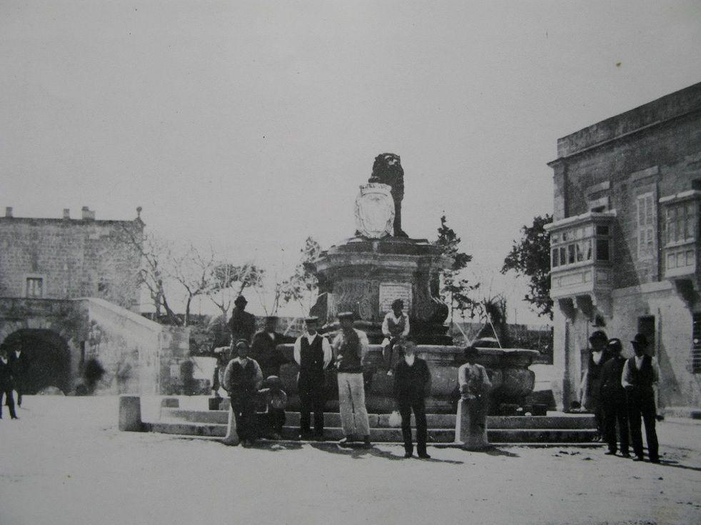 St Anne S Square Floriana Malta 1870 Photograph By Capt Lyons Malta History Maltese Islands Malta