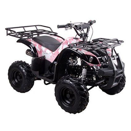 Coolster ARMY PINK 3125R 125CC Kids ATV Fully Auto with