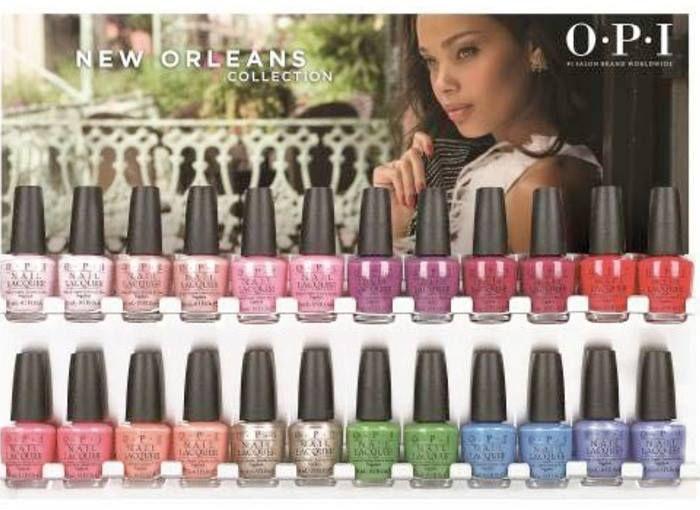 OPI New Orleans Spring Summer 2016 Collection | Spring summer 2016 ...